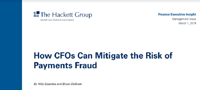 How CFOs Can Mitigate the Risk of Payments Fraud